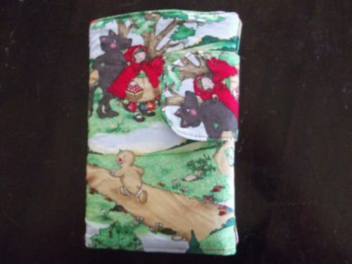 Crayon Wallet Story Book Custom Embroidered Childs Name
