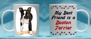 Boston Terrier 11oz Coffee Mug Great Gift Idea