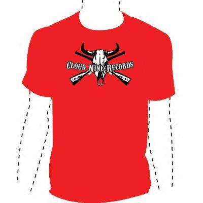 Skull T-Shirt RED