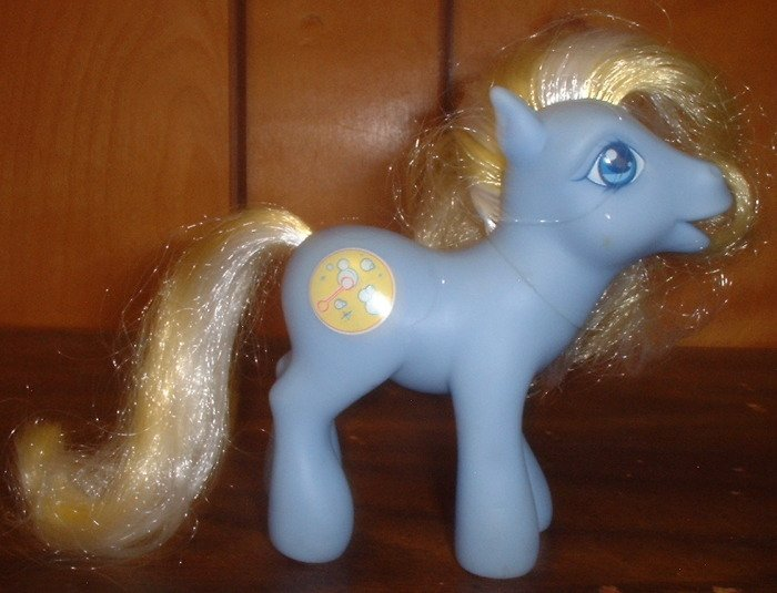 RP - My Little Pony Bubblecup - From the 2004 Spring Basket