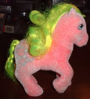 My Little Pony Shady - 1985 So Soft Pony