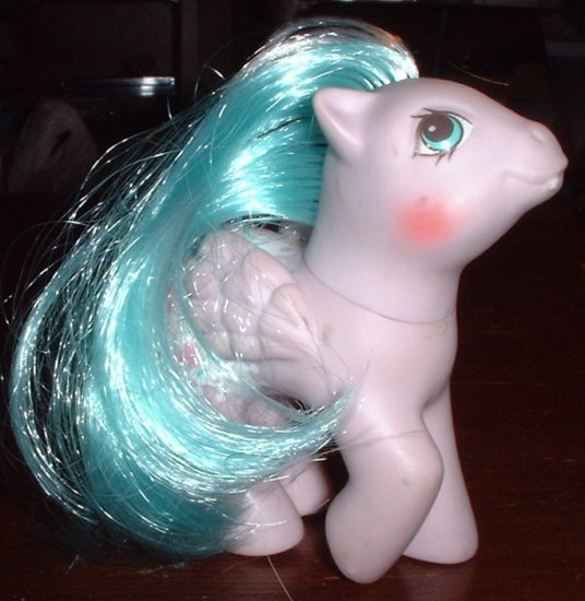 RP - My Little Pony Baby Dots 'n Hearts - 1988 Fancy Pants Baby Pony