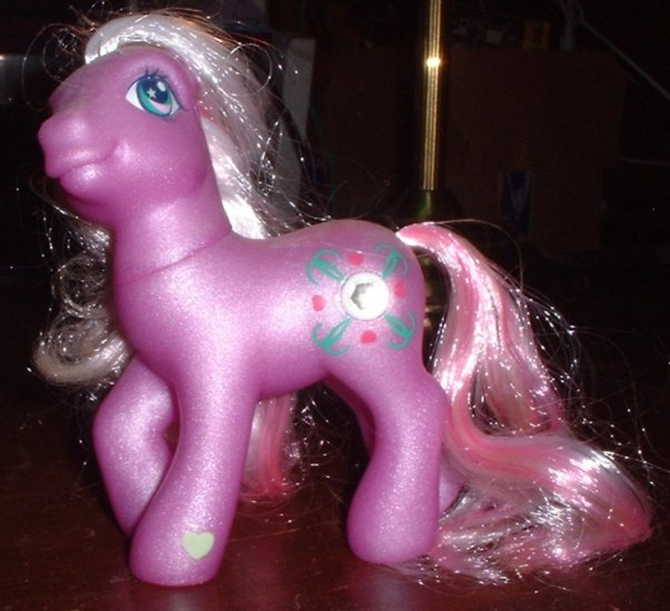 RP - My Little Pony Juniper Jade - Target Exclusive Jewel Pony - 2004