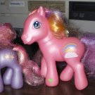 My Little Pony G3 Super Long Hair Rainbow Flash and Baby