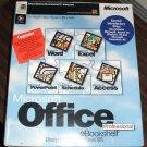 Microsoft Office 95 Professional Retail Upgrade Boxed