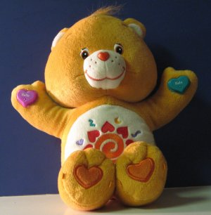 Care Bears Amigo Bear Talking English / Spanish 13 Inch Plushie