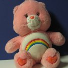 "Care Bears Cheer Bear 13"" Plush - 2002 - Play Along"