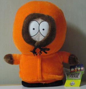 South Park Plush Kenny McCormick - 7 Inch With Tags - 2008