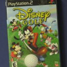 Disney Golf - Playstation 2 - Disney Interactive - PS2 - 2002