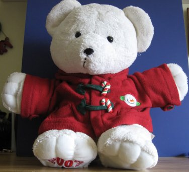 2007 Dan Dee Christmas Holiday 21 Inch Plush Teddy Bear