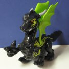 "Fisher Price Imaginext Black and Green Dragon 10"" - 2009"