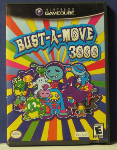 Nintendo Gamecube Bust-a-Move 3000 - 2002 Ubisoft / Taito