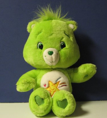 "Care Bears Oopsy Bear 13"" Plush 2007 Play Along Jakks Pacific"