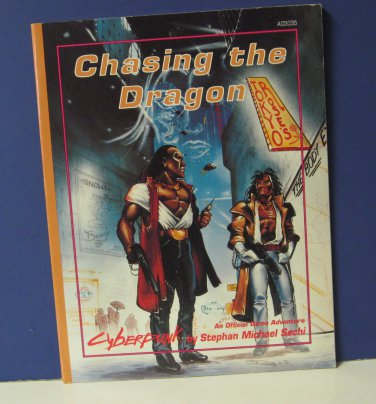 Cyberpunk AG5035 Chasing the Dragon Adventure Book Atlas Games 1992 RPG