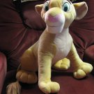 "Lion King Plush Nala Lioness - Disney / Hasbro 2002 - 20"" Long"