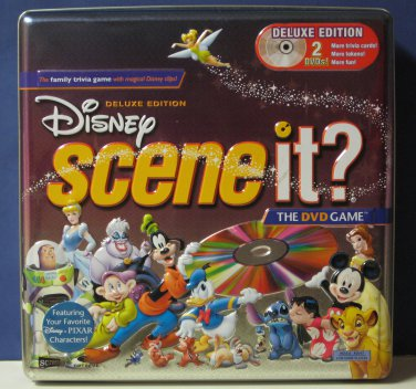 Scene It Disney Deluxe 2 DVD Edition Excellent Condition Trivia Game 2005