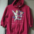 Tinkerbell Girl's Hoodie Sweater 2 Cute 4 You - Junior XL (15/17) - Pink - Hoody
