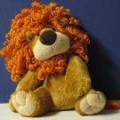 "Jazzy Plush Lion Aurora World 8"" Sitting Upright Pose"