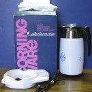 Corning Ware Cornflower Pattern Coffee 10 Cup Percolator 1971 Vintage P-80-EP