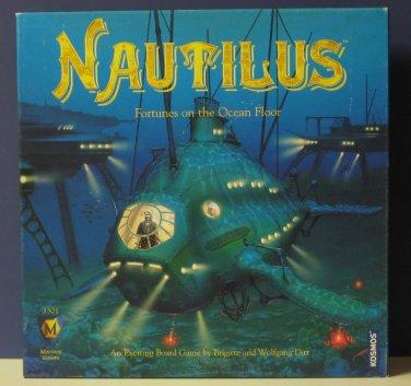 Nautilus - Fortunes on the Ocean Floor - Mayfair Games #3301 - 2002