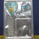 Dragon Quest Roto's Shield Helmet Legend Items Gallery 2009 New Partial Package