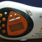 Sony Walkman Sports FM/AM Weather TV Band Radio / Stop Watch Clock - SRF-M80V