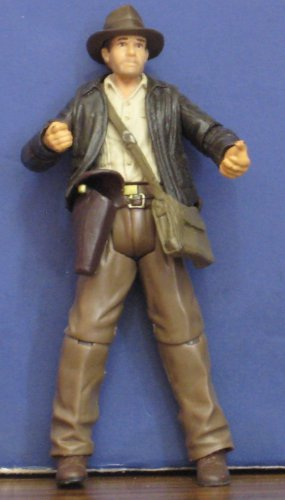 "Raiders of the Lost Ark Indiana Jones Action Figure 3 3/4"" 2007 Hasbro"