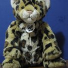 Build a Bear Workshop Plush Leopard - Tan - World Wildlife Fund 2002