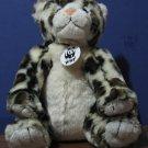 Build a Bear Workshop Plush Leopard - White - World Wildlife Fund 2005