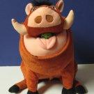 Lion King Talking / Farting / Belching Pumbaa Plush Warthog