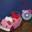 "Hello Kitty Radio Control Pink Cat Car - No Driver Figure - RC 7"" Jada Toys"