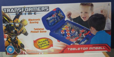 Transformers Prime Electronic Tabletop Pinball Game New / Open Box 2012