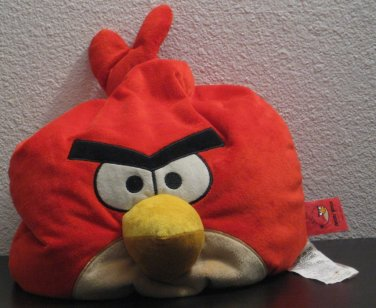 """Angry Birds 12"""" Plush Beanbag Pillow Red Bird - Jay Franco and Sons - Bean Bag"""