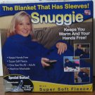 Snuggie Blanket with Sleeves - Blue - New Open Box - Missing Bonus Booklight