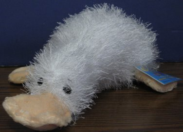 Webkinz Plush Googles White Duck / Platypus - HM021 Ganz New With Tags and Code