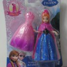 Disney Frozen Anna of Arendelle Magiclip Doll / Figure with 2 Shimmery Dresses