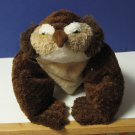 "Flip Flops Extremely Relaxed Animals Floppy Plush Owl - 17"" - 2002"