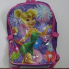 Tinkerbell Disney Fairies Backpack - 15 Inches x 12 Inches - Purple / Pink