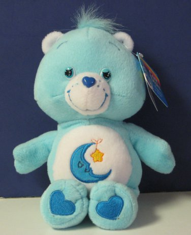 "Care Bears Original Edition Series Bedtime Bear 9"" Plush - 2004"