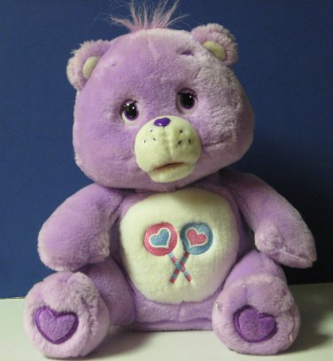 "Care Bears Share a Story Animatronic Share Bear - 11"" - 2004"