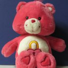 "Care Bears Talking Secret Bear - 13"" Plush - Play Along - 2004"