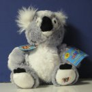 "Webkinz Koala Bear HM113 With Code Ganz 8"" Plush"
