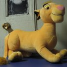 "Lion King Simba - 18"" Long Plush - Disney - 2002 Hasbro"