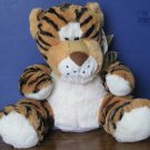 "Furry Friends Plush Tiger Hand Puppet - 10"" - Roaring - With Tags - 2011"