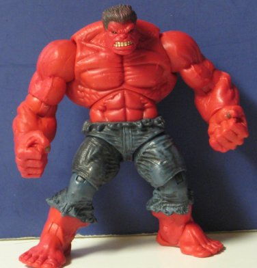 "Marvel Incredible Hulk Red Action Figure 5"" Target Exclusive 2009 Rare"