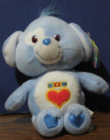 "Care Bear Cousins Loyal Heart Dog 9"" Plush - Collectors Edition 2003 Play Along"