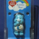 "Care Bears 20th Anniversary Bedtime Bear 2 1/2"" PVC Figure - 2002 - New"