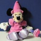 "Minnie Mouse Happy Birthday Party Bean Bag Plush 11"" Disney Store"