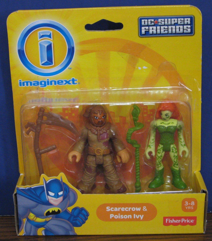 Batman && Scarecrow Figure Set Action- & Spielfiguren Super Friends
