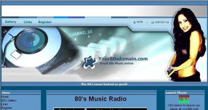 80s Web Radio Station